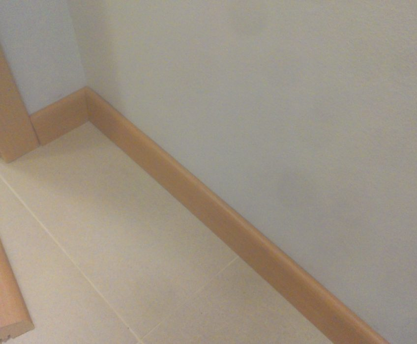 Lištování podlahy