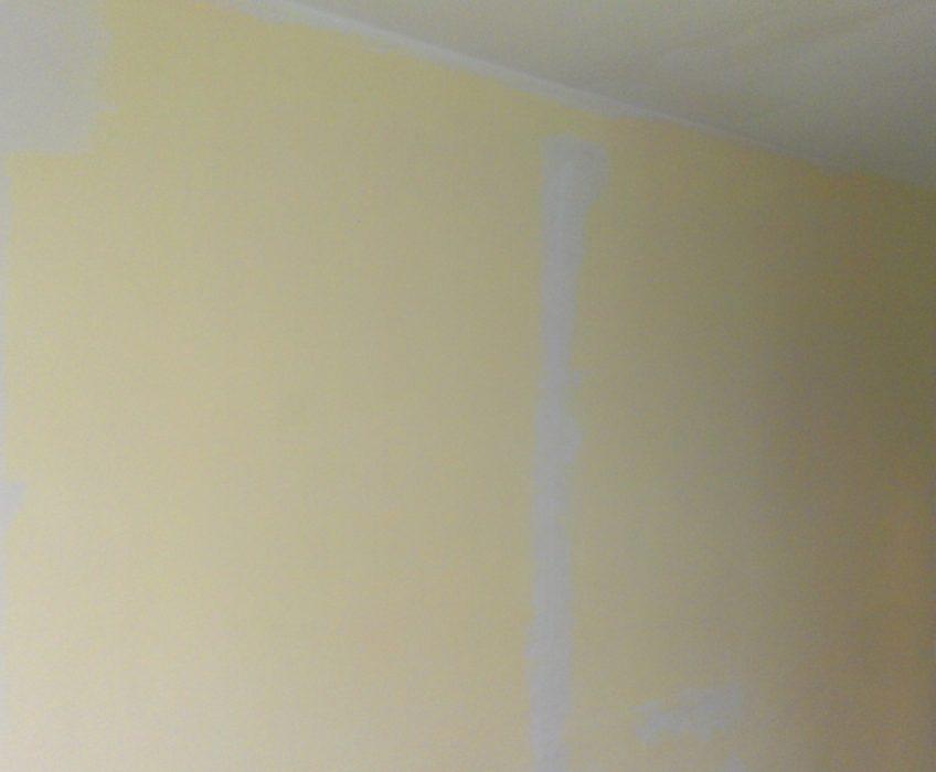Malířské práce-vyspravení stěn
