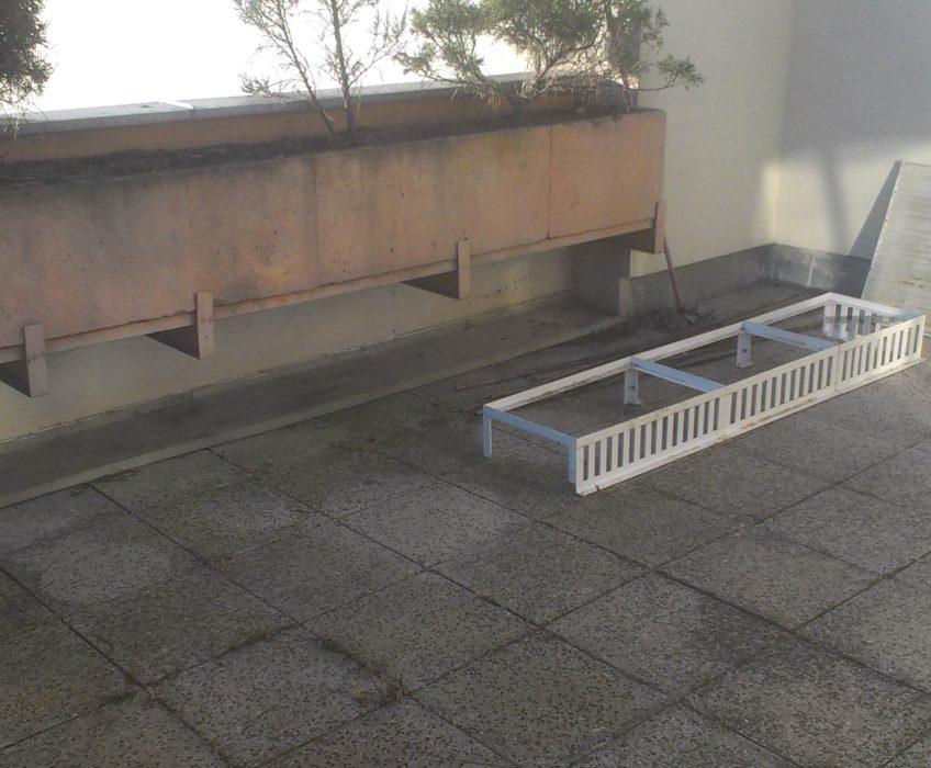 Renovace terasových truhlíků