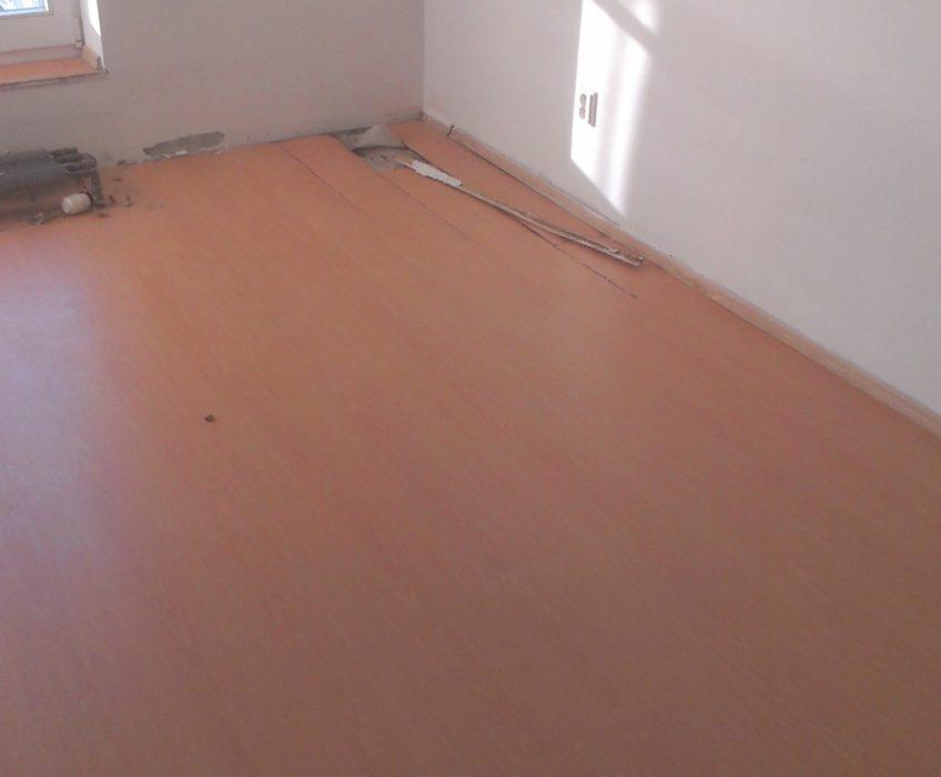Lištování plovoucí podlahy