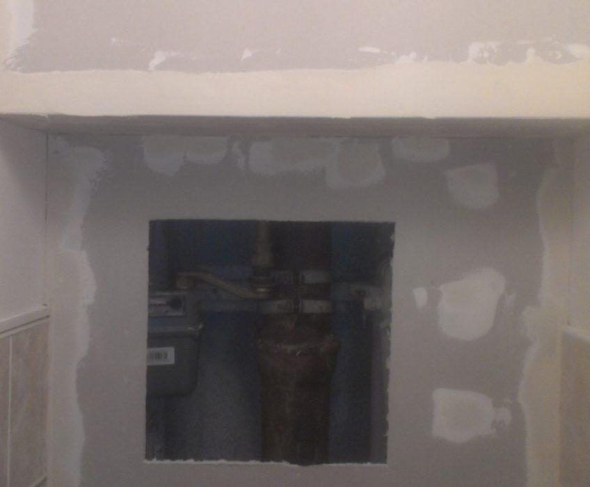 Drobné opravy, lištování, sádrokarton