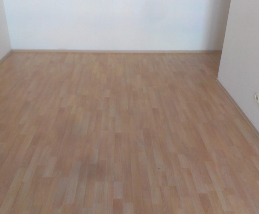 Pokládka plovoucí podlahy