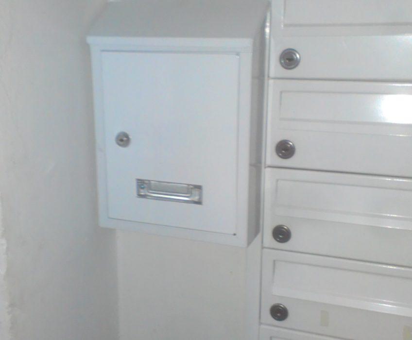 Instalace dopisní schránky