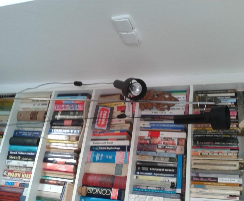 Oprava vypínače lampiček