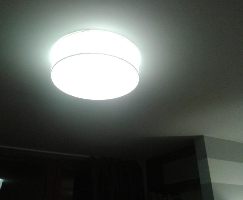 Instalace stropních světel