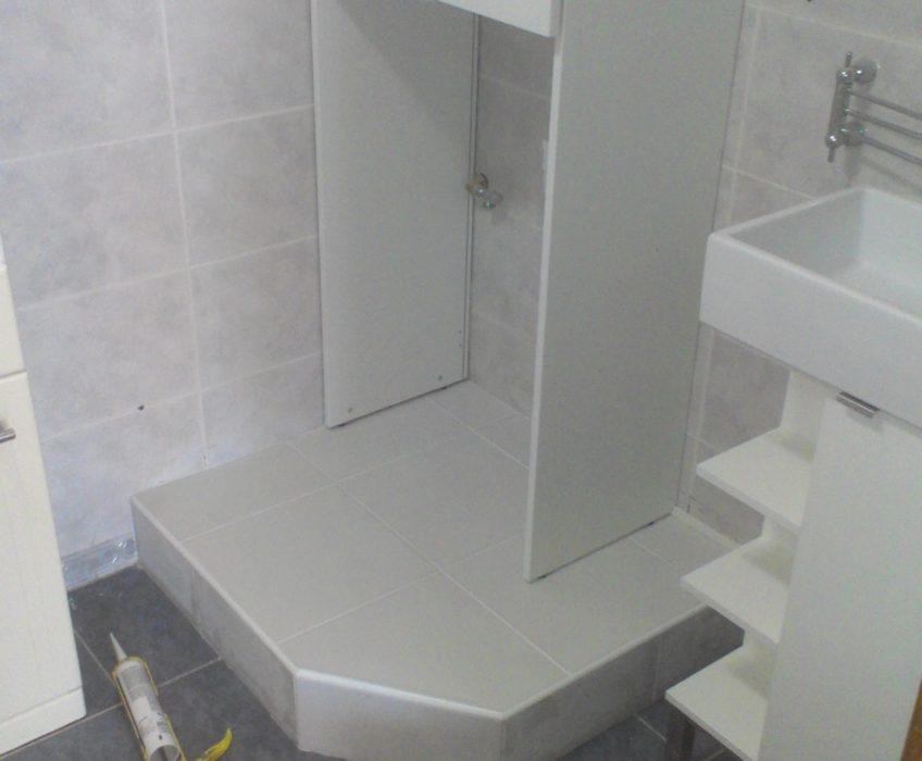 Úpravy koupelny-hodinový manžel Praha
