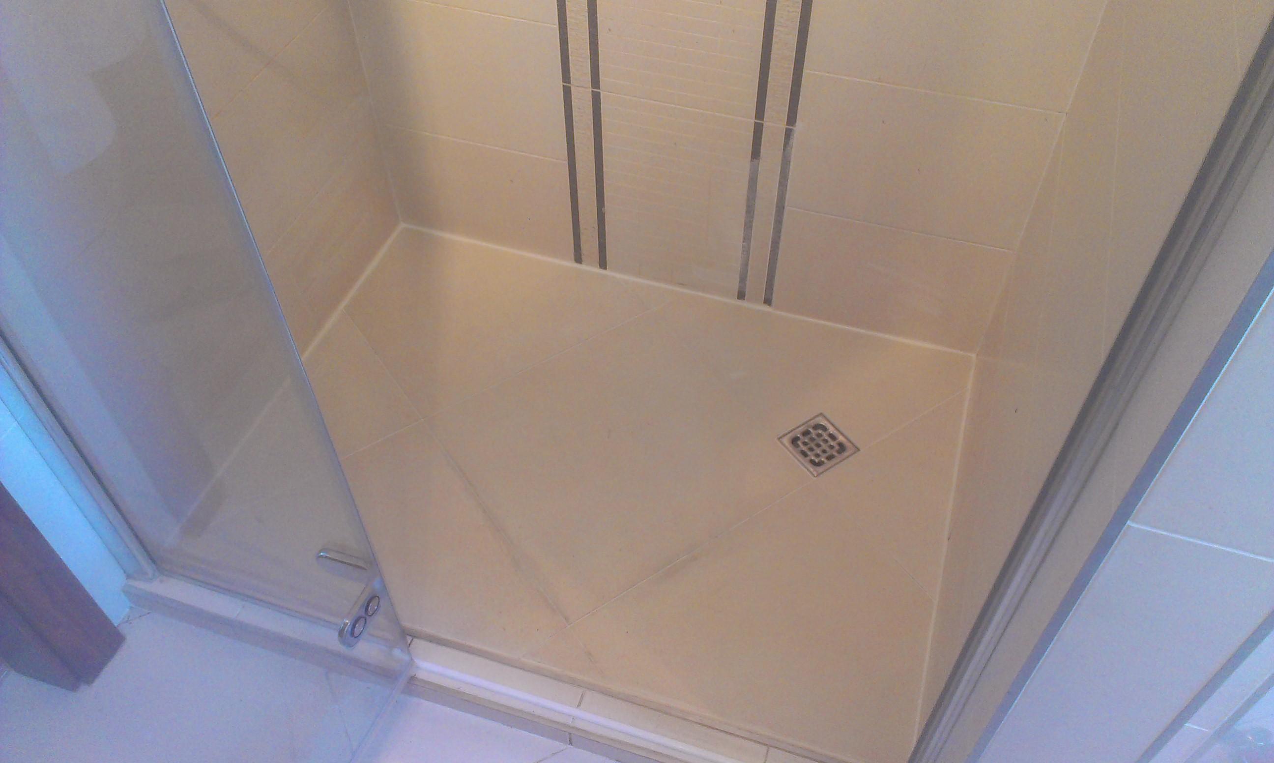Výměna sprchové vaničky