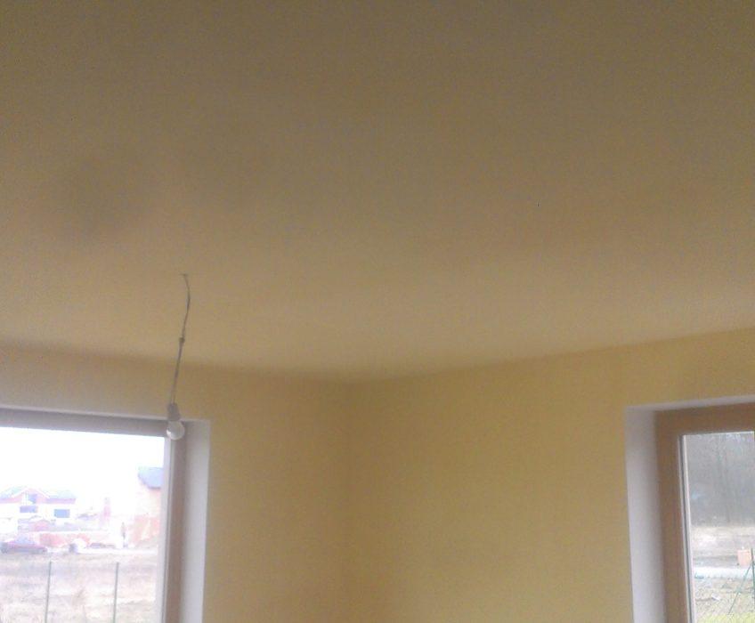 Vyspravení zdí, malířské práce