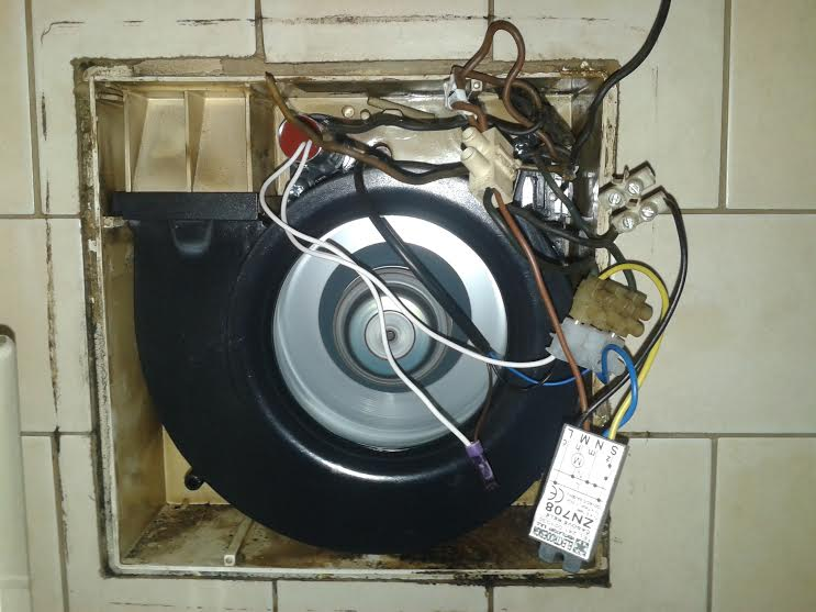 Výměna ventilátoru v koupelně