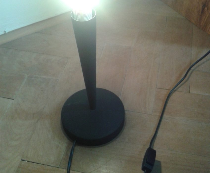 Oprava lampičky-instalace spínače