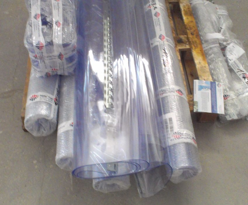 Montáž průmyslového závěsu PVC