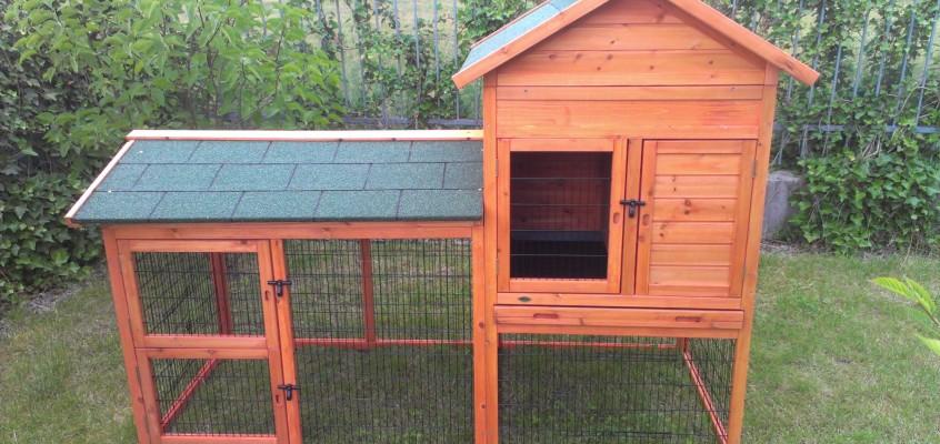 Stavba králíkárny