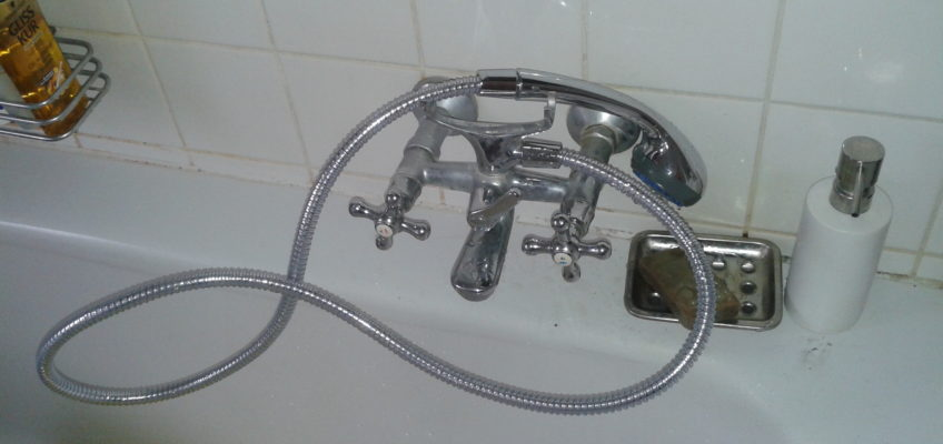 Výměna sprchové hadice a hlavice