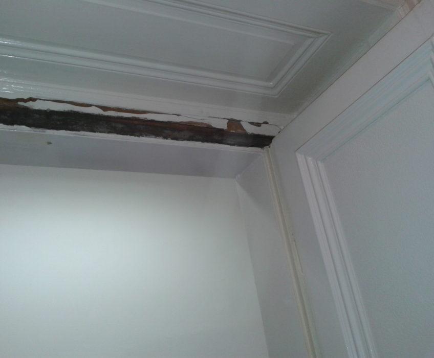Výměna nadpraží a renovace dveří