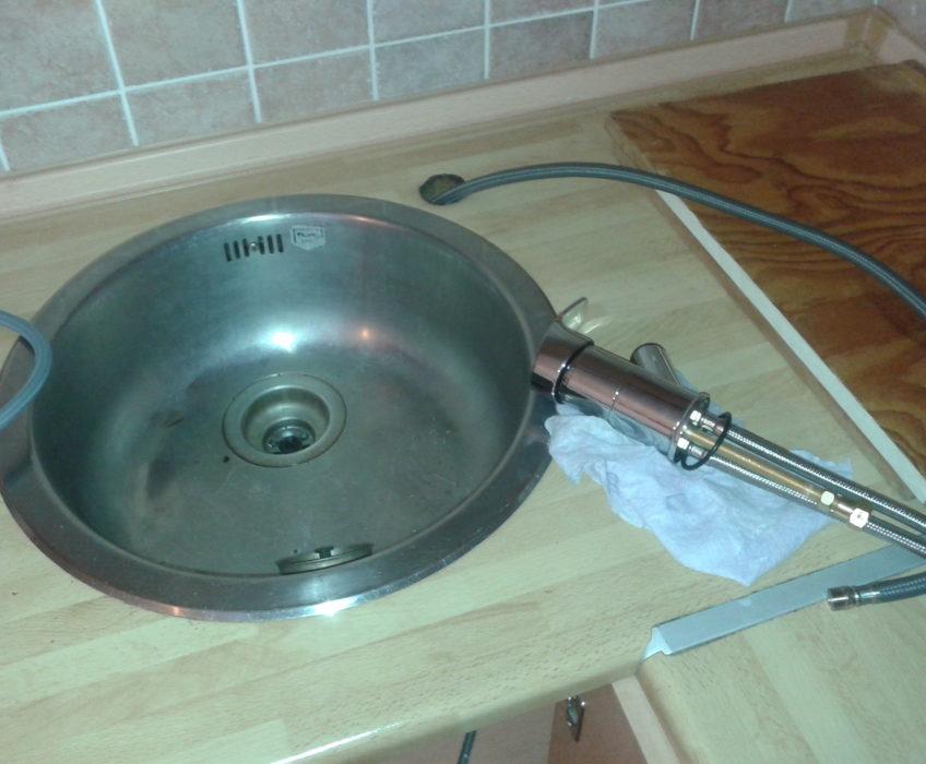 Výměna vodovodní baterie