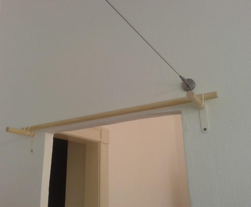 Montáž lankové garnýže