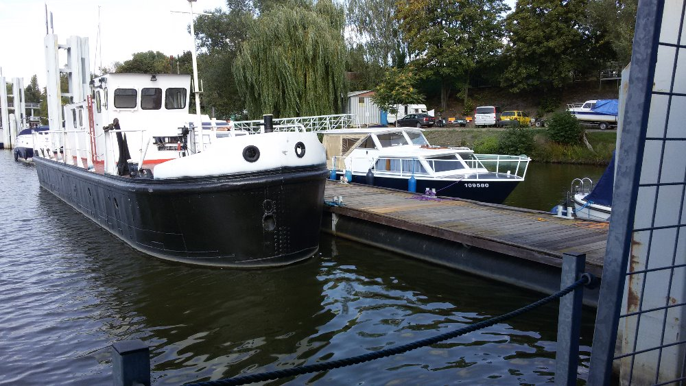 Oprava pontonu