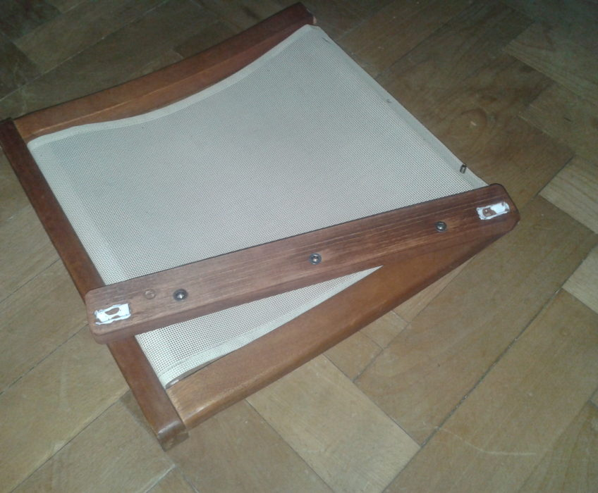 Oprava sedátka židle