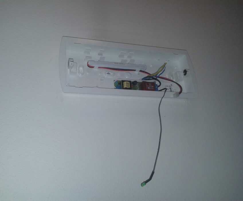 Výměna bezpečnostních osvětlení