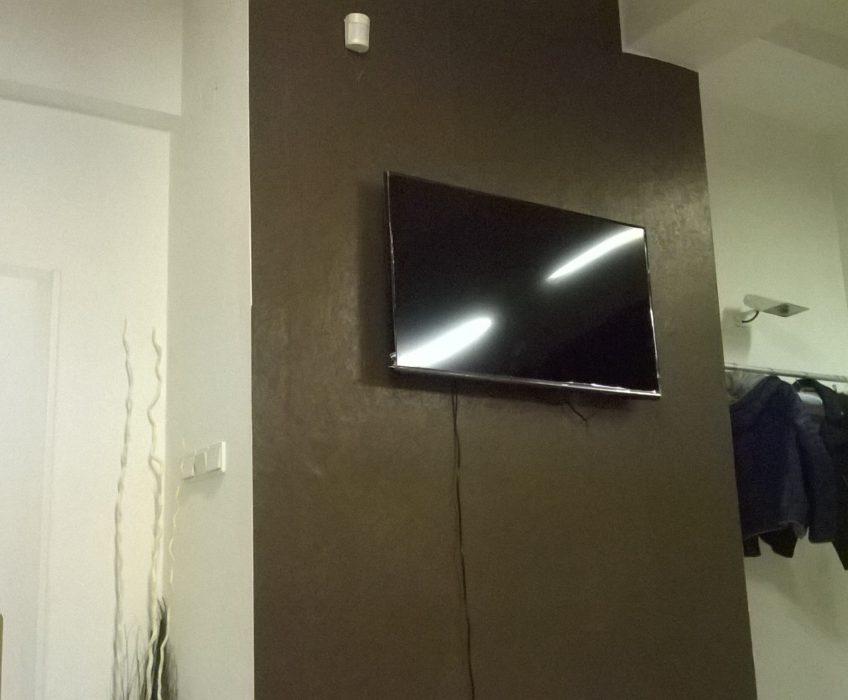 Montáž TV na zeď