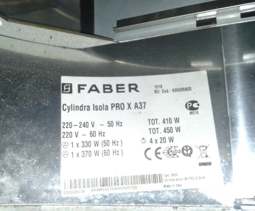 Oprava digestoře Faber