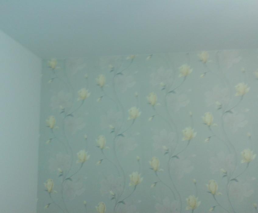 Tapetování bytu vliesovou tapetou