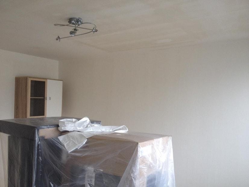 Malířské práce, vymalování bytu