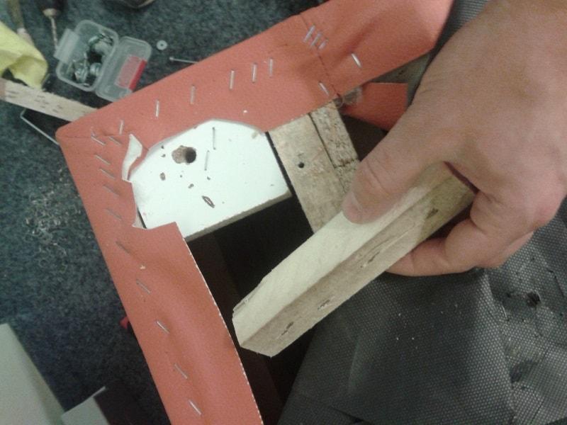 Oprava křesla