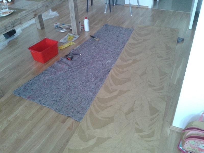Tapetování vinylovou tapetou