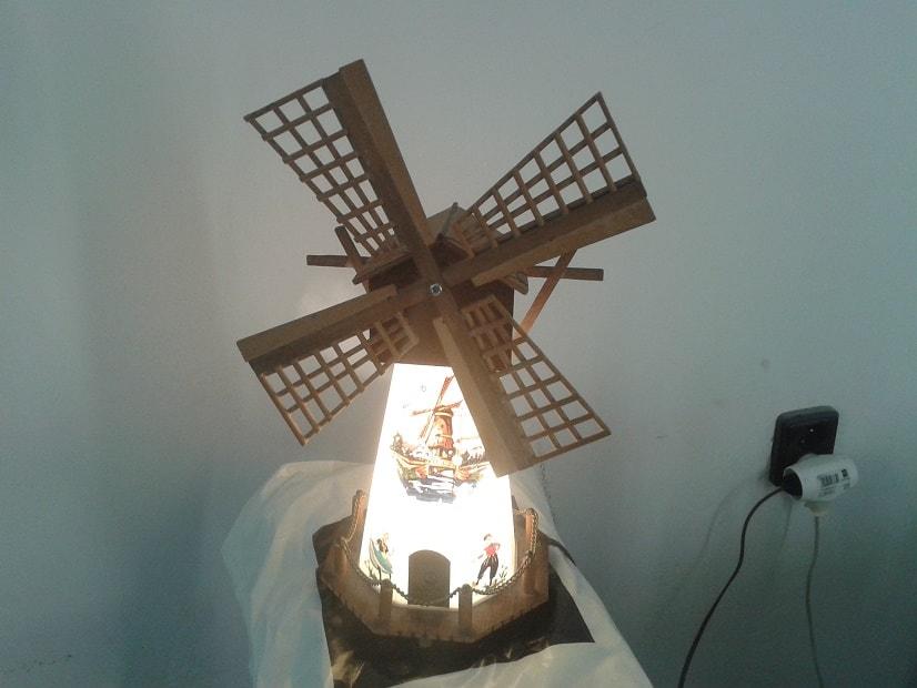 Oprava lampy větrného mlýnu video