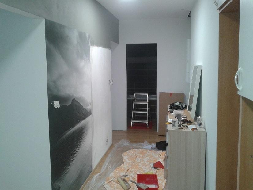 Tapetování bytu