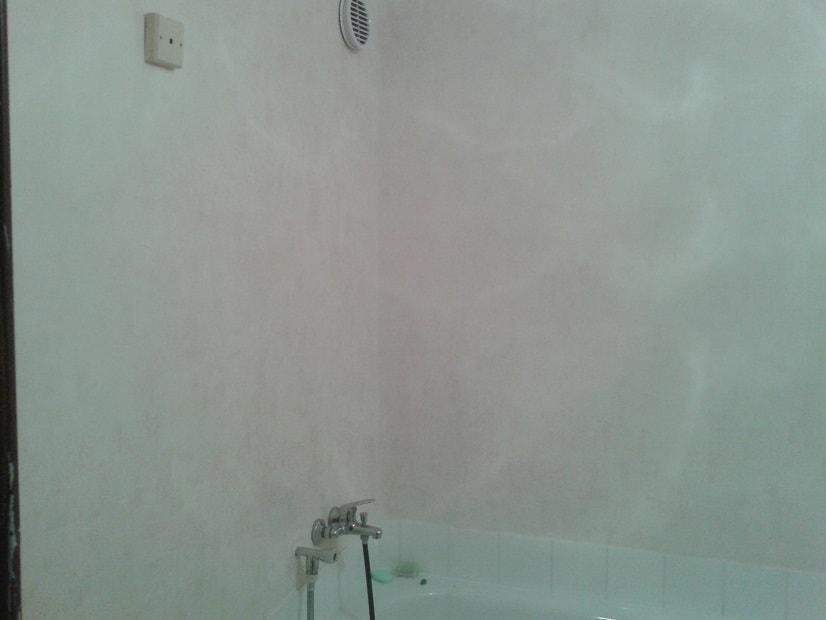 Tapetování koupelny a WC
