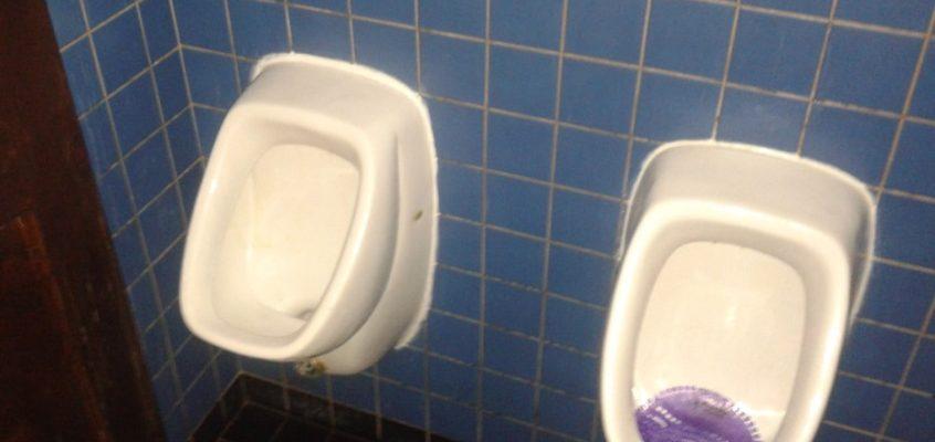 Čištění odpadu WC mušle