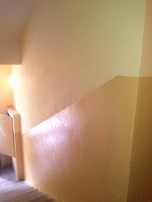 Zednické práce v bytovém domě