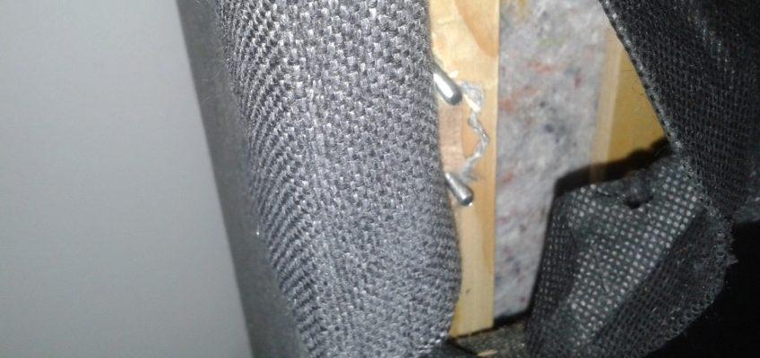 Oprava mechanismu sedačky