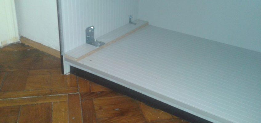 Oprava skříně a posuvných dveří