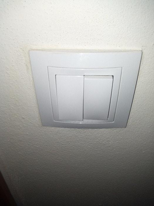 Výměna vypínače