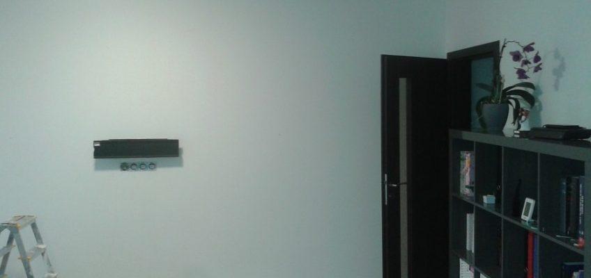 Stěna před penetrací a tapetováním