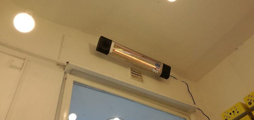 Montáž elektrického topení