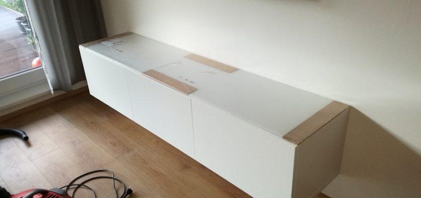 Montáž skříňky