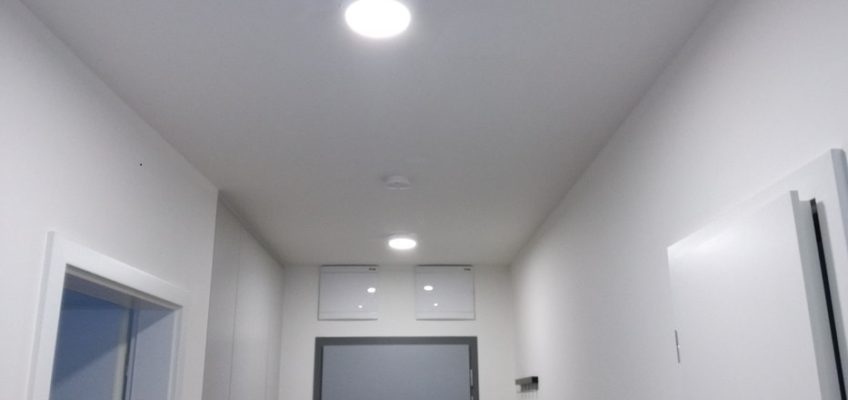Montáž stropních LED svítidel