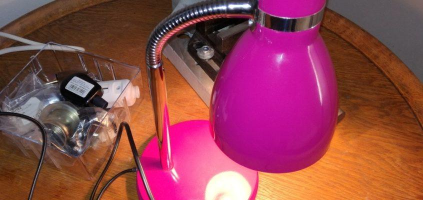 Oprava lampičky