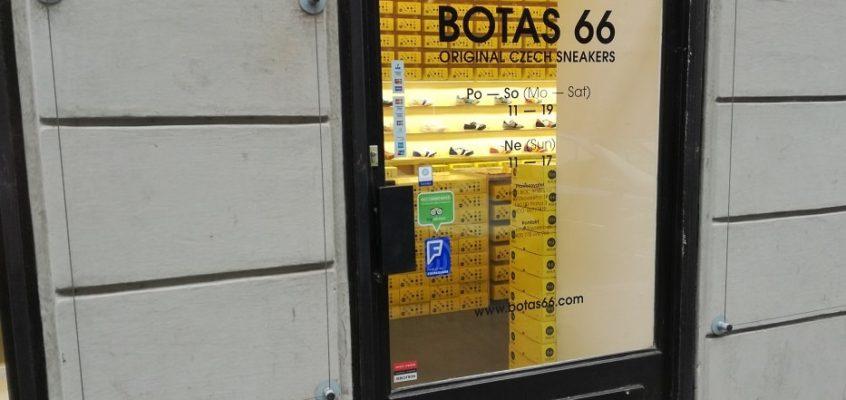Oprava madla dveří Botas 66