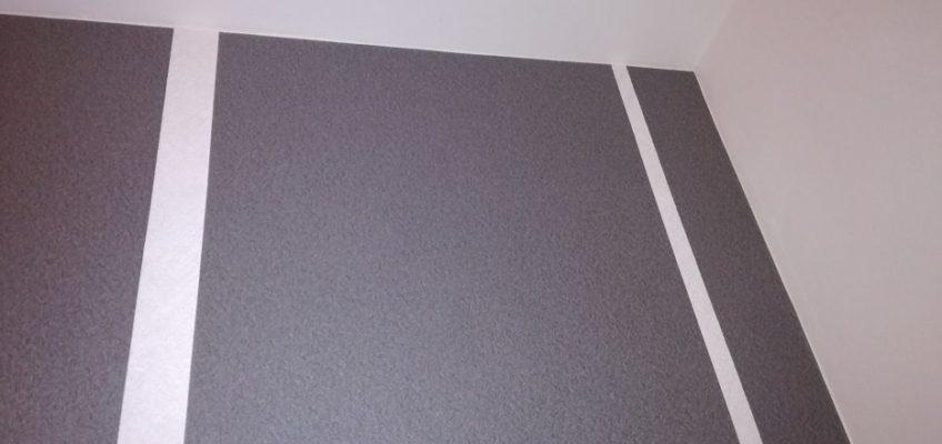 Tapetování stěny vliesové tapety