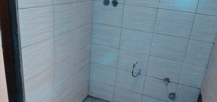 Obkladačské práce koupelna