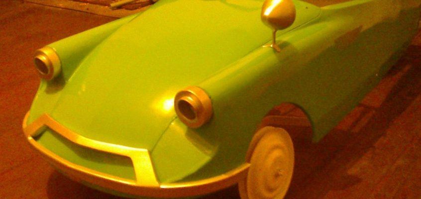 Renovace autíčka