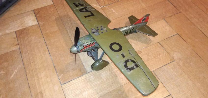 Složení a oprava model letadlo Tippco D-OLAF