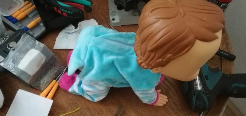 Oprava hračky