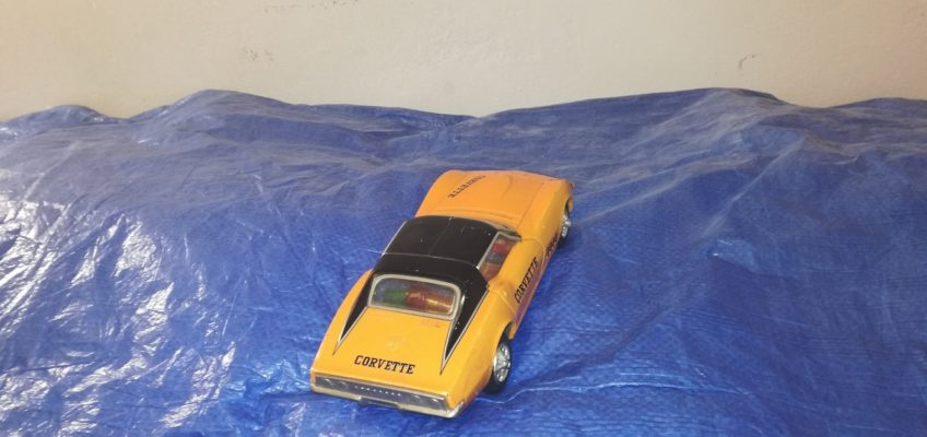 Oprava modelu auta Chevrolet Corvette Japan