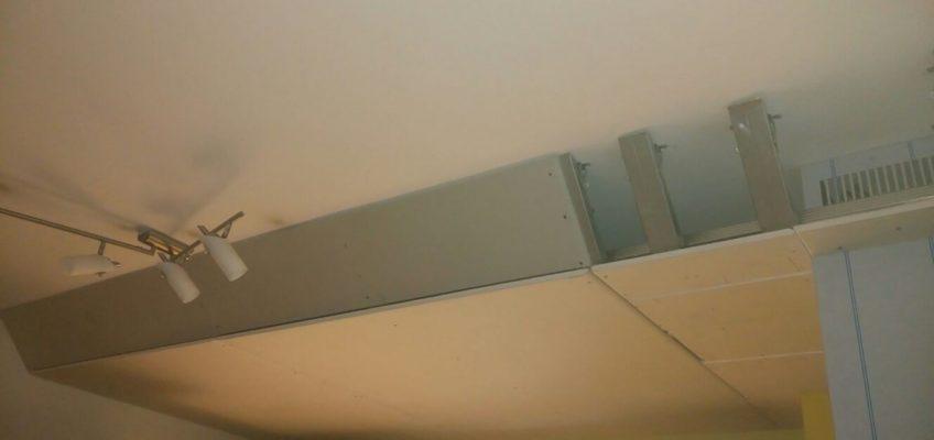 Instalace odtahu digestoře